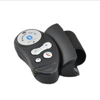 Free Shipping Steering wheel car hands free bluetooth car bluetooth wireless bluetooth earphones mobile phone