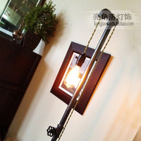 Steam punk style individuality creative floor lamp coffee loft