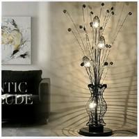 Gold lighting modern aluminum wire floor lamp table lamp bedroom lamps 6179 black