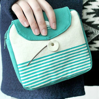 Marine coin purse bag 2012 clutch cosmetic bag clutch bag women's day clutch