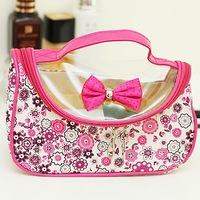 Case flower 2013 clutch cosmetic bag storage bag new arrival