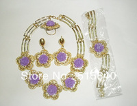 Free shipping! Fahion Jewelry set,necklace/baracelet,earing/ring,fashion design,for retail and wholesale AMY668