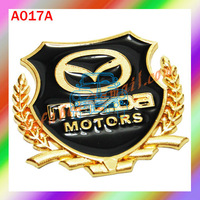 Free shipping wholesale Metal Car Emblems Car 3d Stickers Zinc Alloy Car side StickerS Metal Car StickerS #A017A