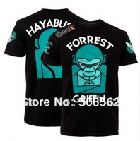 Wholesale - -- Hot!! HAYABUSA sportwear Print Shirt 100% Cotton-FORREST GRIFFIN