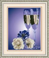 free shipping Diy rhinestone diamond painting home decoration gift round diamond painting lanmncanting  romantic restaurant