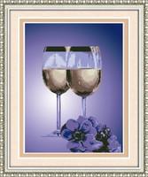 FREE SHIPPING Diy rhinestone diamond painting home decoration gift round diamond painting romantic Romantic restaurant - 2