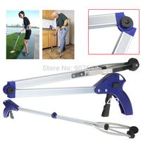 2014 New Foldable Pick Up Grabber Gripper Reacher Kitchen Litter Reaching Picker Help Hand Tool, Freeshipping