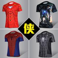 Iron Man 3 Short Sleeve T Shirt/ Novelty Iron Men Short Tee Shirt/ Spider Man Super Man Spiderman Short T Shirt M-L-XL-2XL-3XL