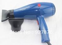 Free Shipping Venezuela Popular Super Mega Turbo 3000 Professional Salon Hair Dryer Blue Color