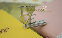 Love Wedding Place Card or Photo Holders Favors Free shipping