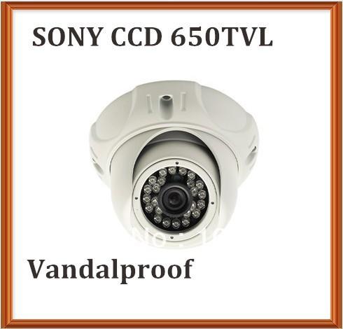kamera dome surveillance system 650TVL Sony Color CCD Board lens 20m night vision(China (Mainland))