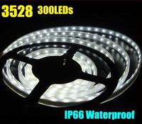 On sale SMD 3528 5M White /RGB colour Waterproof 300pcs IP65 LED Flexible light strip