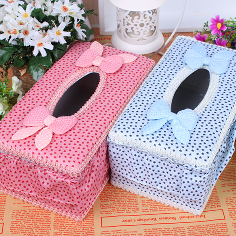 Cloth rustic table napkin tissue box carton vehienlar long - Serviette table tissu ...