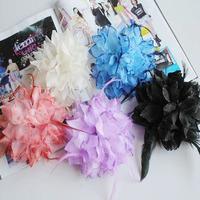 Bikini bikini feather hair accessory corsage