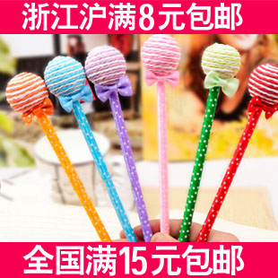 Lollipop pen gift pen ballpoint pen ball pen sweet lollipop