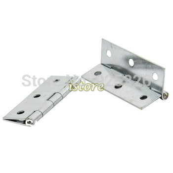 "Silver Steel New 6 Pair Metal 3"" (75mm)  Window Butt Hinges Zinc Plating Door Hinges 15036"