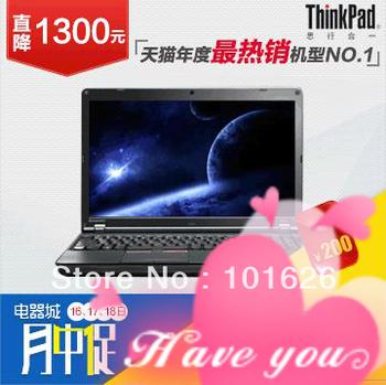 100% guarantee original ThinkPad E535 3260A52 Laptops AMD quad-core A8-4500M 1.9GHz-2.8GHz Windows 8 2GB 500GB /WIFI/HDMI/Camera