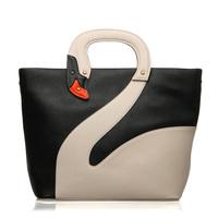 For oppo brand women's handbag l0074 fashion personalized handbag cross-body white swan bags 2013