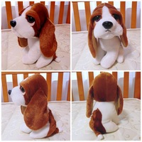 Lovely Dog Stuffed Plush Animal Toy  Little Basset Hound Dog Very Soft & Vivid & High Quality Cheap Sale