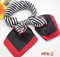 Freeshipping silk square scarfs 60*60cm Career apparel scarfs High quality silk scarfs HF6-2 wholesale