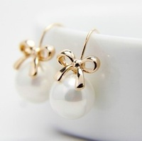 Freeshipping/Fashion pearl earrings accessories drop earring,high quality earrings,fashion jewelry,wholesale jewelry Lady's gift