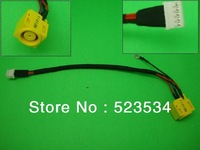 laptop dc power jack  with cable for IBM lenovo SL400  SL500 SL400  SL500