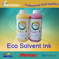 Good quality CMYK colors eco solvent inkjet ink