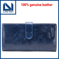 Free Shipping 100% Genuine Leather women's short section of the multi-card wallet Retro purse.Clutch Bag C10149