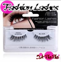 2013 Fashion Style AR Brand Human Hair Natural Long False Eye Eyelashes Lashes Makeup Beauty Party Free Shipping in Box