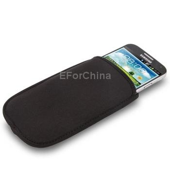 10 Pieces/Lot Mobile Phone Case Carry Bag for Samsung Galaxy Grand Duos i9082 i9080 (Black)