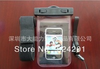 50pcs/lot,New Waterproof Pouch Bag Armband Case Cover Fit for iPhone 3G 3GS 4G 4S L0205,free shipping