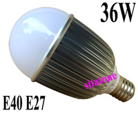 2 year warranty free shipping sale E27 E40 base 36W LED BULB 3600lm AC85-265V LED LAMP BULB LAMP