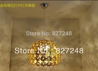 Wholesale innovation project power 110v 220v e27*1 lamp holder aluminum pendant light design gold for home lighting dropshipping