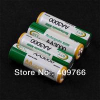 12PCS/LOT Original BTY AA 1.2V Ni-MH 3000mAh Rechargeable Battery Batteries for camera DV alarm clock Free Shipping