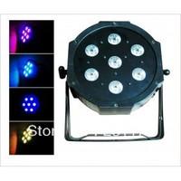7*10W RGBW 4in1 Slim LED Flat Par Light, Anmerican Dj par cans