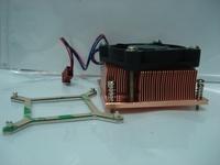 Fans home Pm989 51mm copper radiator iei plate 17cm plate
