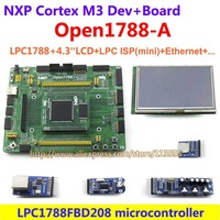 NXP LPC ARM Cortex-M3 Development Evaluation Board LPC1788 FBD208 LPC1788+4.3inch 480x272 Touch LCD+ LPC ISP (mini)=Open1788-A