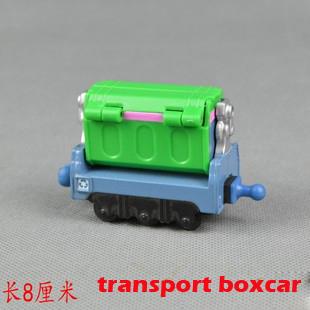 Chuggington Diecast train metal 10cm small alloy toy kid's gift  - Transport Boxcar