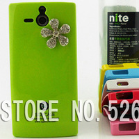 Three-dimensional Hard Plastic Case Cover FOR Sony Xperia U st25i FREE SHIPPING