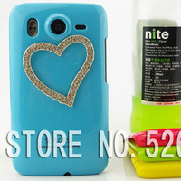 Three-dimensional Hard Plastic Case Cover FOR HTC Desire HD A9191 G10 FREE SHIPPING