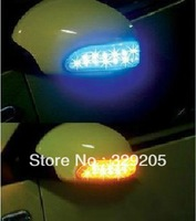 Free Shipping One Piece/Lot Environment friendly LED 13 Turn signal mirrors
