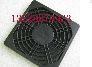 Free Shipping 120 three-in plastic dust network 12cm cooling fan grille black