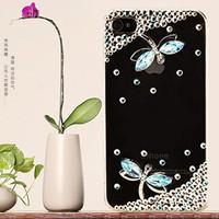 HongKong Post Air Mail free shipping + Bulk Luxury 3D Crystal Dragonfly Bling Diamond Case for zopo c2 case +1 diamond Dust plug