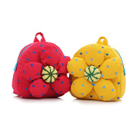 2013 new style baby cute bag Double-shoulder baby school bag cartoon bag child canvas backpack