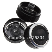 Free Shipping Black 3 pcs Air-Condition Control Panel Elegant Switch Set for 2004-2009 Mazda 3