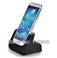 Sync Cradle Charger Dock Station for Samsung Galaxy S4 i9500 (Black)