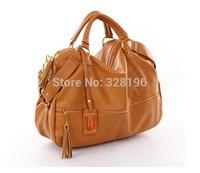 Fashion leisure female bag  black / brown