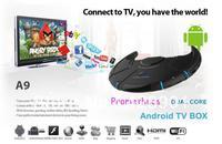 with WIFI Mini Google Android 4.2 Smart TV Box Mini PC Dual Core HDMI XBMC Media Player Smart Set Top Box Receiver free shipping