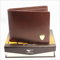 Septwolves leather male wallet short design lovers wallet horizontal wallet