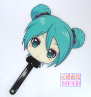 Anime Cartoon Hatsune Miku Cool Cute Hand Fan